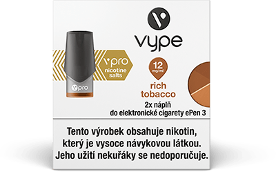 Vype ePen 3 Rich Tobacco 12 mg