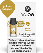 Vype ePod Golden Tobacco 12 mg