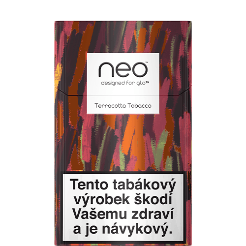 neo™ Sticks Terracotta Tobacco (karton)
