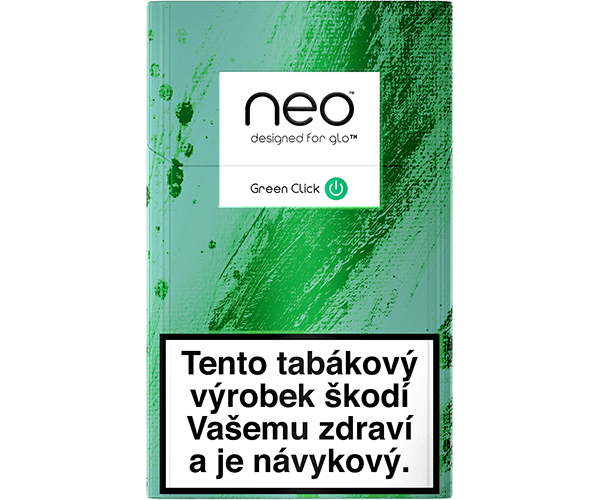 neo™ Sticks Green Click (karton)